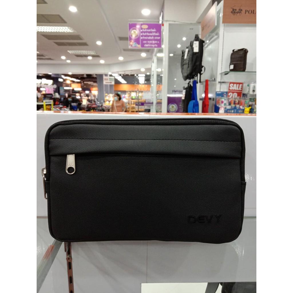 กระเป๋าคาดเอว Devyสีดำ