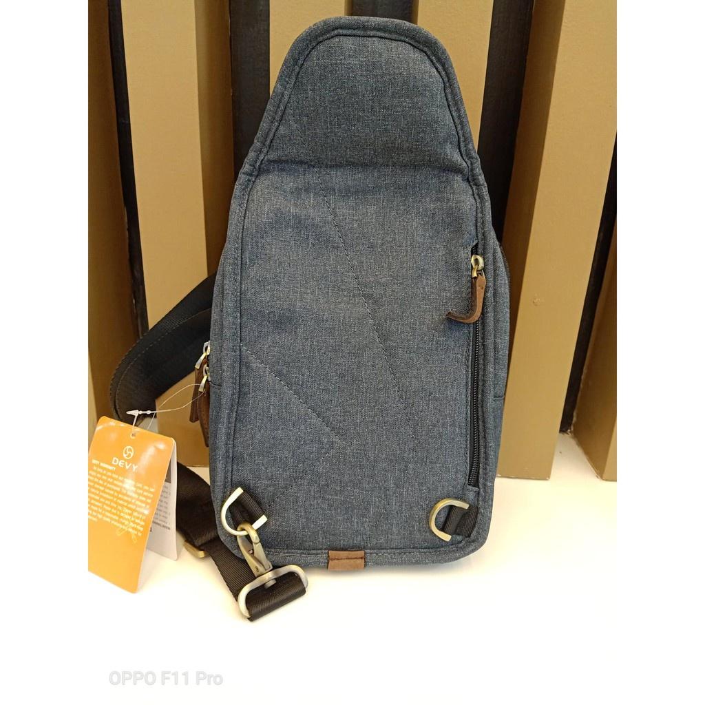กระเป๋าวินเทจ✗PAE กระเป๋าสะพายข้าง  Devy รุ่น 03-1526 สีเทา ราคาพิเศษ 890เป้สะพายข้างชายกระเป๋าสะพายข้างชาย