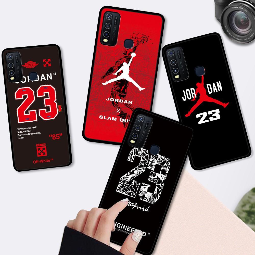 สำหรับ Infinix Hot 9 Play Hot 8 Smart 4 S5 Lite S5 Pro NOTE 7 X650 X652 X653 X690 X680 Soft Case Silicone Casing TPU Air 23 Sports Basketball Phone Full Cover simple Macaron Shockproof matte Back Cases เคสโทรศัพท์ เคสมือถือ เคสซิลิโคน