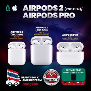 Review 【Siri/Spatial audio/Firmware update】Authentic/Ori refurbished 100% AirPods2/AirPodsPro
