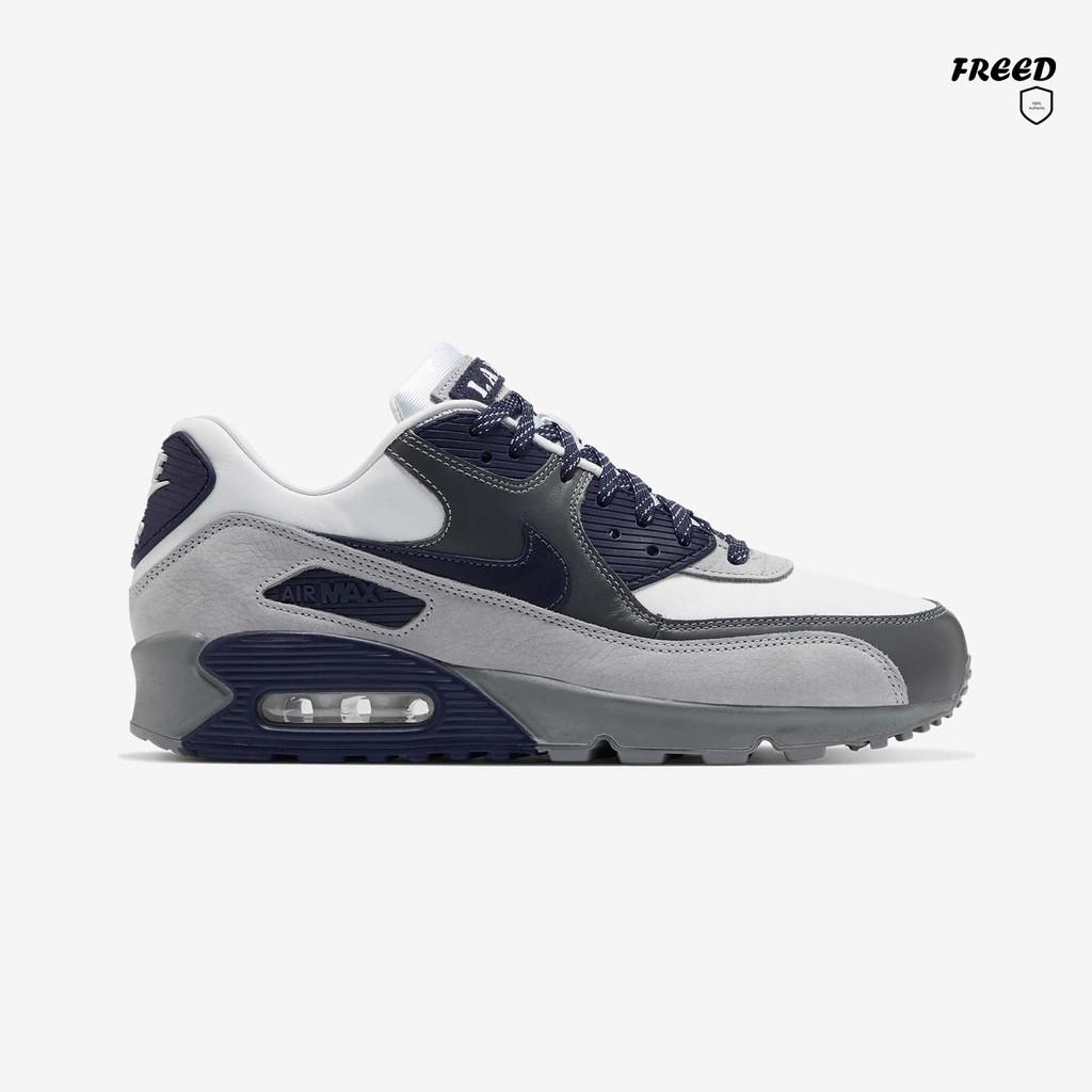 "OriginalNike Air Max 90 NRG Lahar Escape Pack ""Smoke Grey"" รุ่น CI5646-100 รองเท้าลำลองชาย รองเท้าผ้าใบnike รองเท้าใส่เท"