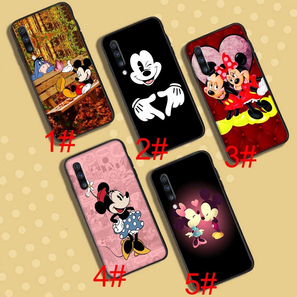A-9 Mickey and Minnie Soft Case Samsung Galaxy J7 J5 Prime Pro Core A02 A02S A12 J6 Plus