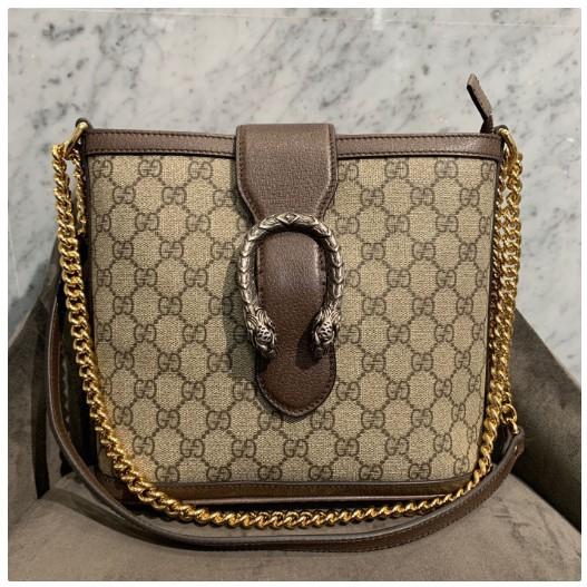 Gucci Dionysus Gg Supreme กระเป๋าสะพายข้างสะพายไหล่ 499622
