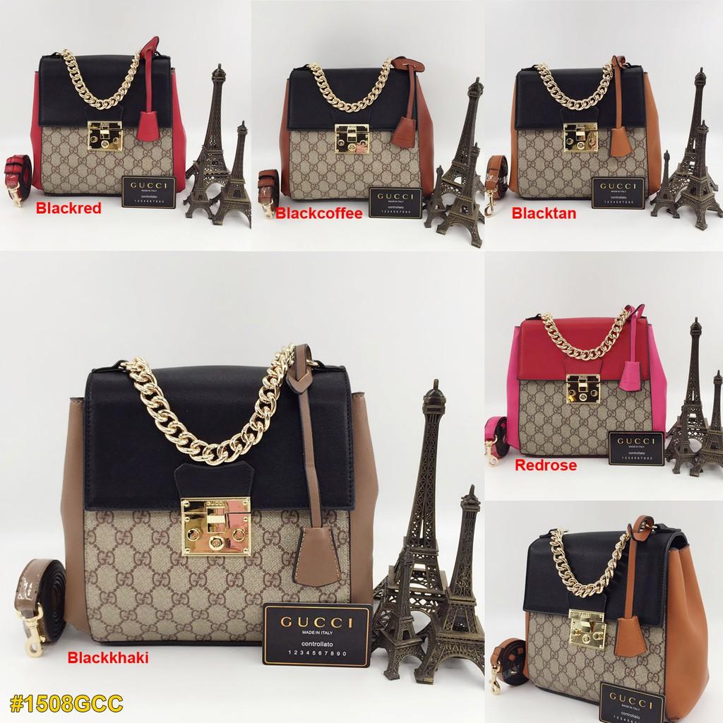 Gcc Padlock Backpack - Gucci Dionysus กระเป๋าเป้สะพายหลัง - ถุงใส้นําเข้า - ถุงนําเข้า - ถุงขายของ