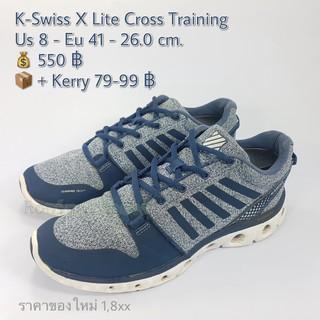 K Swiss X Lite Cross (41 26.0) รองเท้ามือสองของแท้ | Shopee
