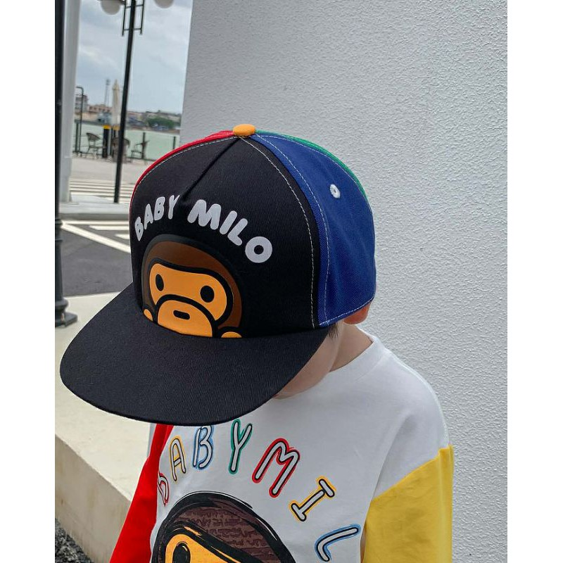 หมวก baby milo ทรง hiphop