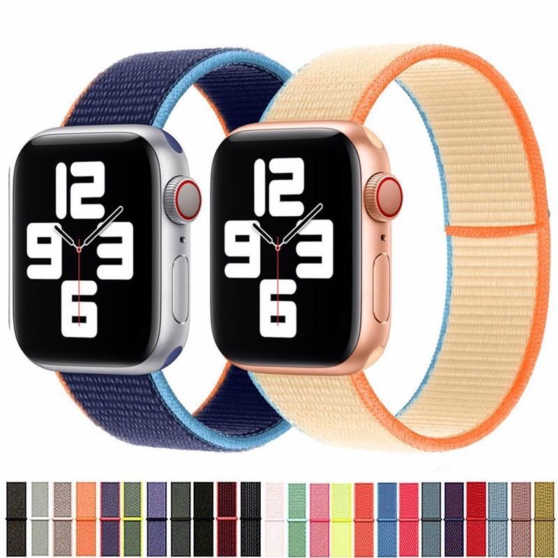 สาย applewatch สาย applewatch แท้ สายนาฬิกาข้อมือ สาย สำหรับ apple watch สำหรับ AppleWatch ซีรีส์ 6 5 4 3 2 1 42 มม. 44