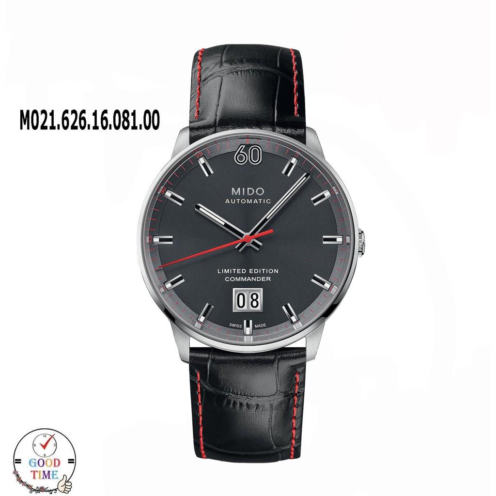 MIDO Commander Limited Edition Automatic นาฬิกาข้อมือชาย รุ่น M021.626.16.081.00 สายหนังแท้