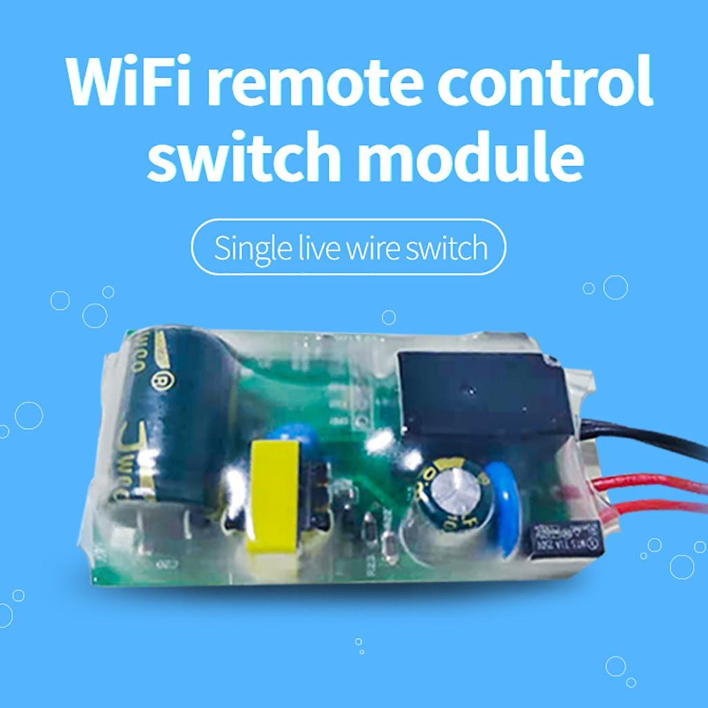 หุ่นยนต์ดูดฝุ่น ✧Smart WiFi Wireless for Amazon Echo for Google Home Single Fire Switch Mo