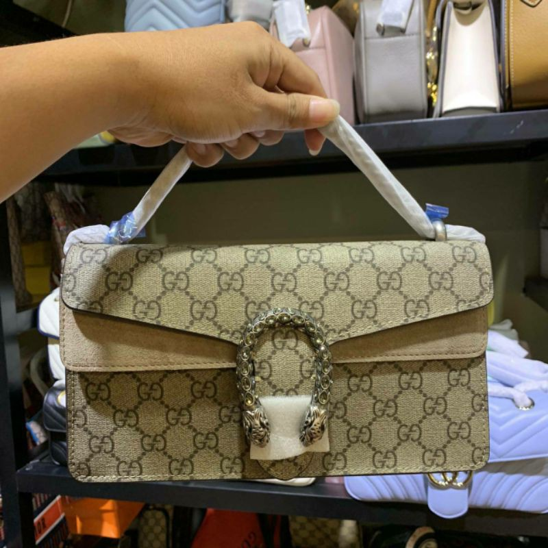 กระเป๋า Gucci Dionysus 2020 งานหนังแท้ ปั้มทุกจุด อุปกรณ์ครบยกกล่อง