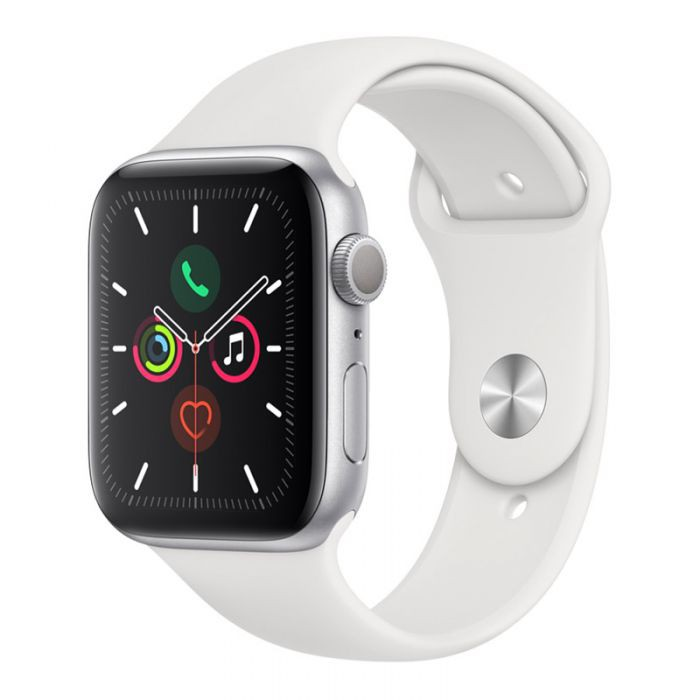 Apple Watch Series 5 44mm Silver Sport Band