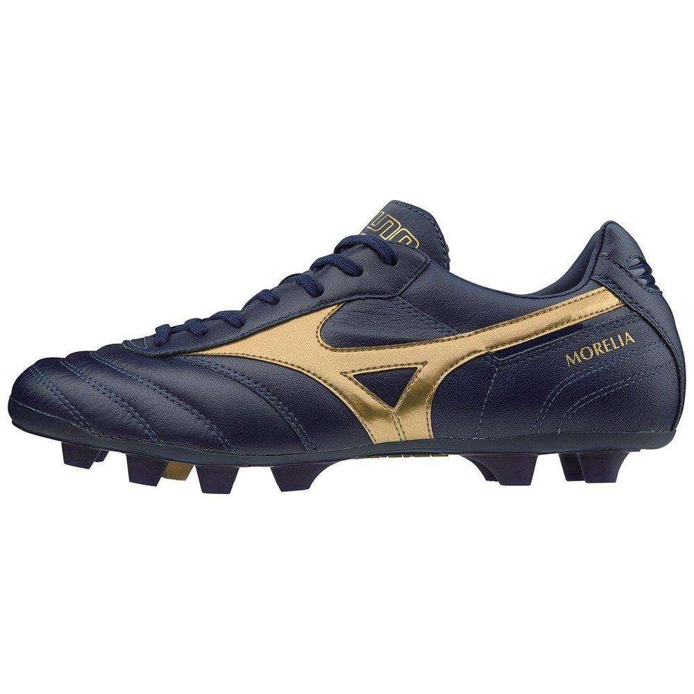 การส่งเสริมโปรโมชั่นรองเท้าฟุตบอลหนังจิงโจ้ Mizuno Morelia II MD