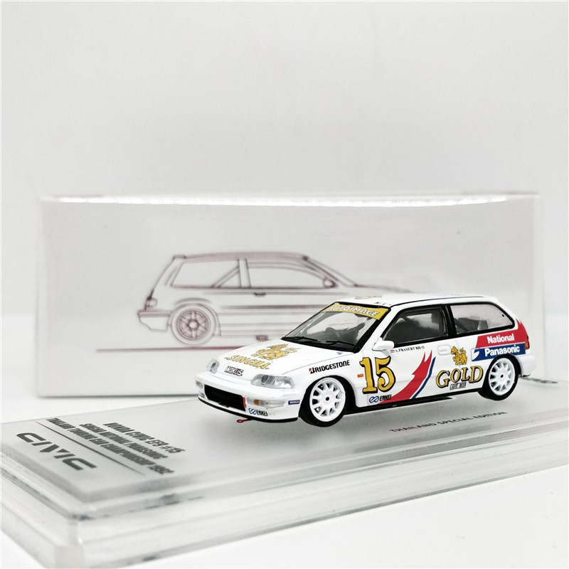 โมเดลรถยนต์ inno64 1 : 64 Honda Civic ef9 # 15