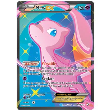 Pokemon TCG Mew EX Full Art RC24/RC25 Legendary Treasures Radiant Collection Graded Card [PSA 9]