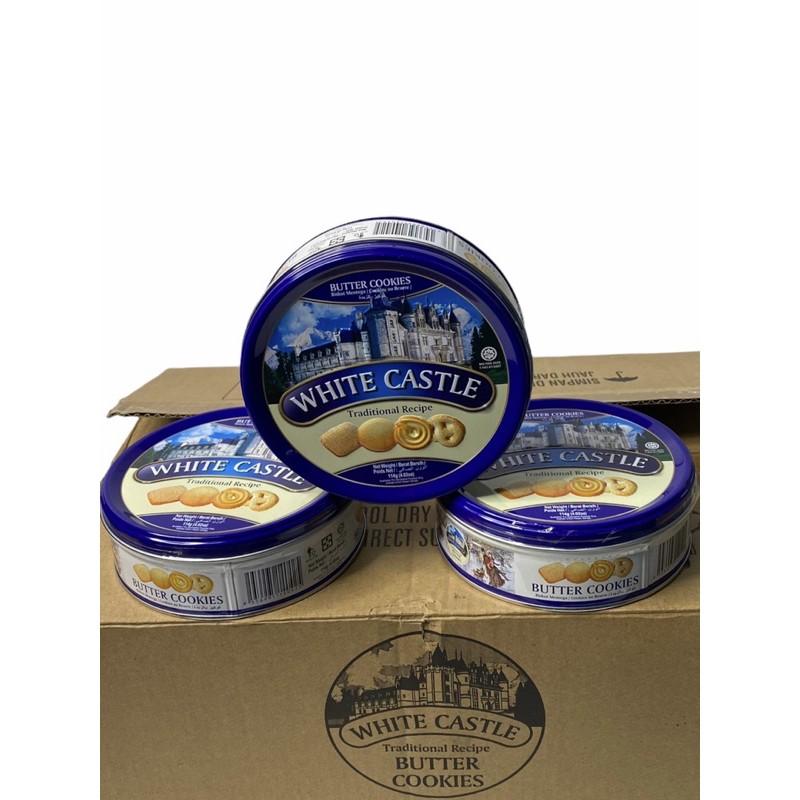 WHITE CASTLE !!Butter, Cookies &Cream,Vanilla  กดเลือกรสชาติที่ต้องการ..114g,100g 1SETCOMBO/3กระป๋อง ราคาพิเศษ พร้อมส่ง!