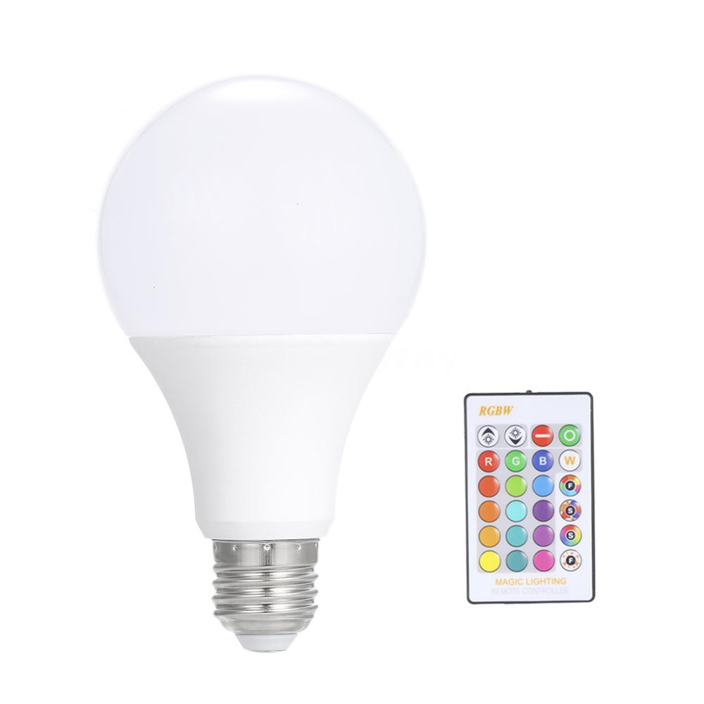 ES e27 9w Dimmable LED lamp  bulb UK Stock in red blue amber and more