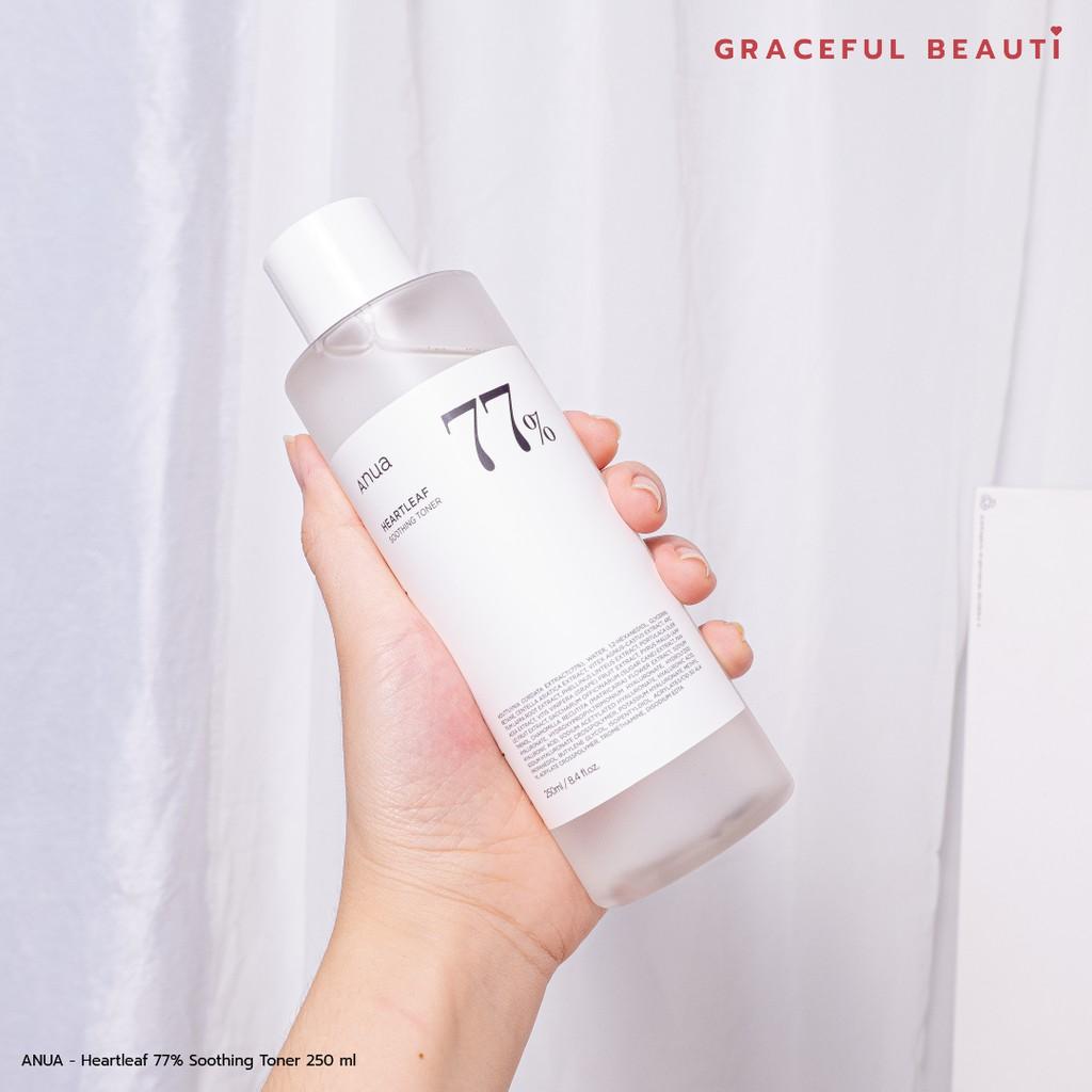 พร้อมส่ง✨ANUA - Heartleaf 77% Soothing Toner 250 ml
