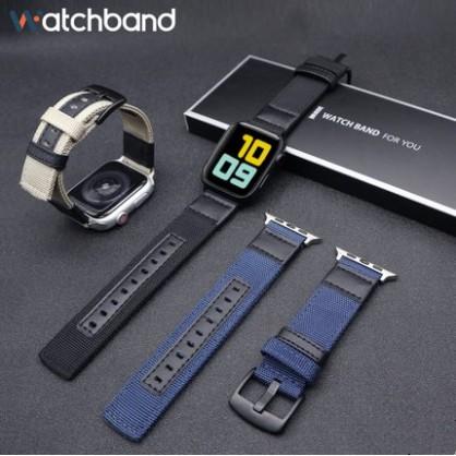 Jeep apple watch strap iwatch series SE 6 5 4 3 2 1 แฟชั่สายไนล่อน  สาย applewatch 38 40 42 44mm