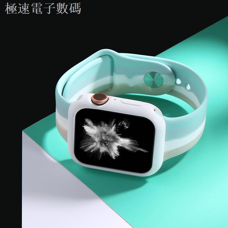 สายนาฬิกาข้อมือซิลิโคนสําหรับ Applewatch 6 / 5 / 4 / 3 / 2 Applewatch 6