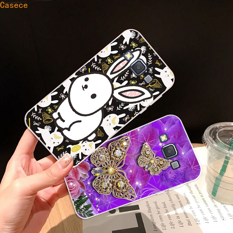 ET-Samsung A3 A5 A6 A7 A8 A9 Star Pro Plus E5 E7 2016 2017 2018 Butterfly Soft Silicon TPU Case Cover
