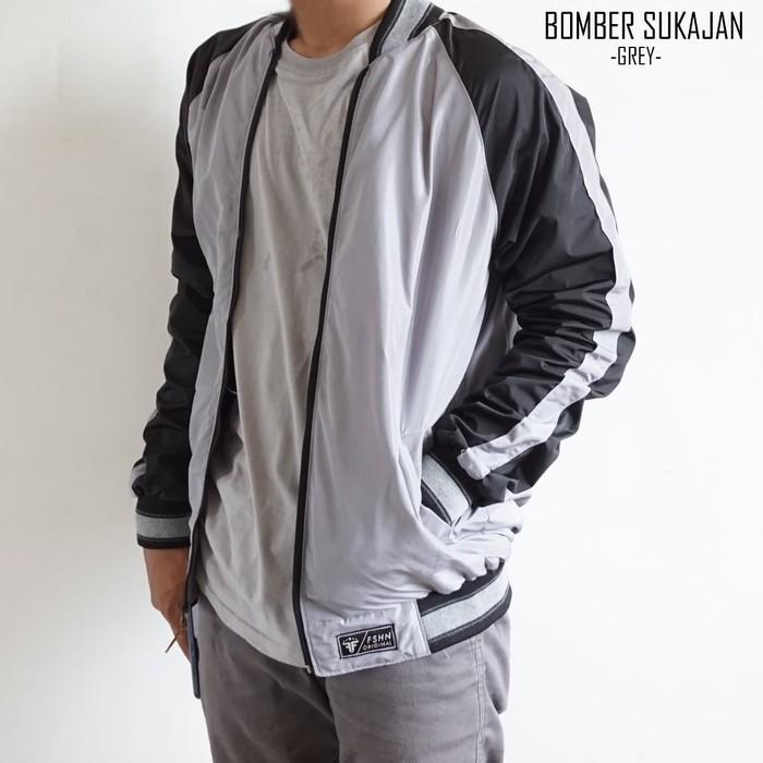 เสื้อแจ็คเก็ต Sukajan Bomber Jacket / Sukajan Japan - Sukajan สีเทา, L 4.7 (23) สําหรับขาย 37 Products (100%)