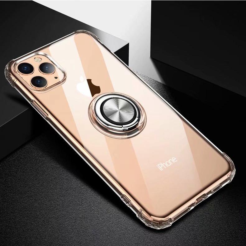 เคสโทรศัพท์มือถือแบบแม่เหล็กพร้อมวงแหวนสําหรับ Apple iphone 11 iphone 11 Pro Max iphone11