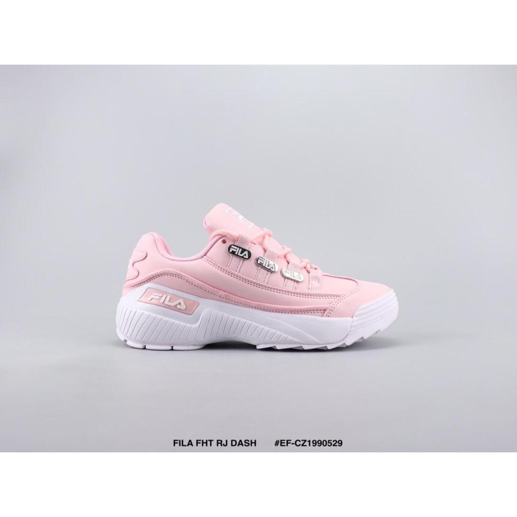 การซื้อของแท้】FILA FHT RJ DASH Fila รองเท้าวิ่งที่ให้ความรู้