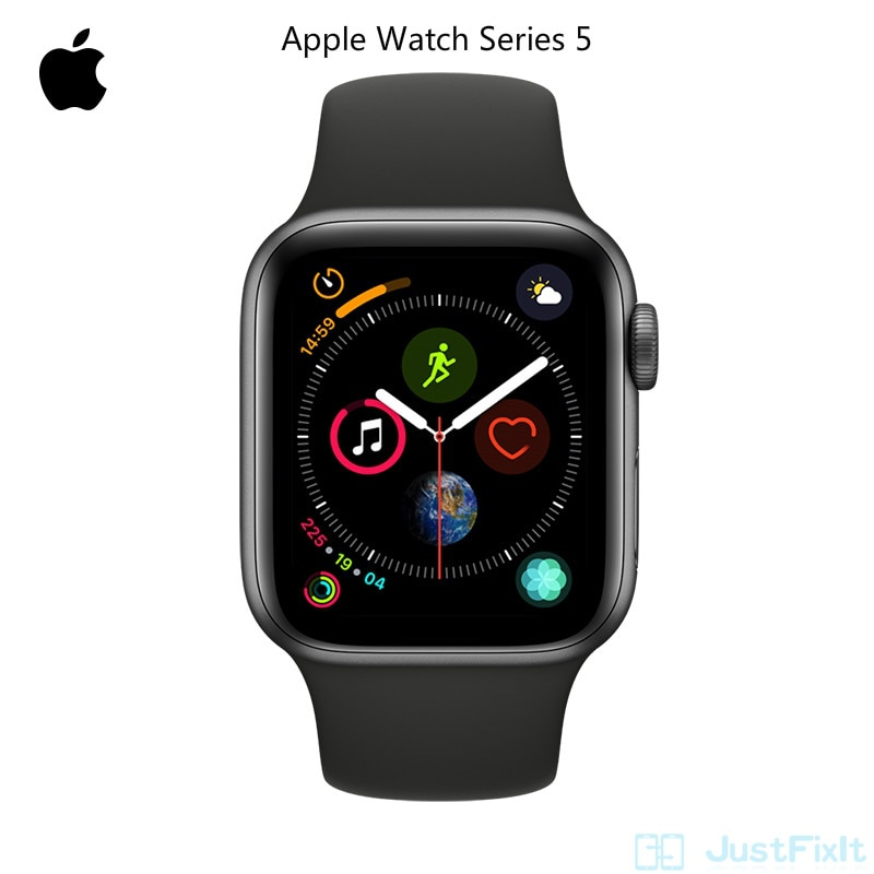 Please COD Apple Watch Series 5 S5 Gps Wifi-only Aluminum SportBand