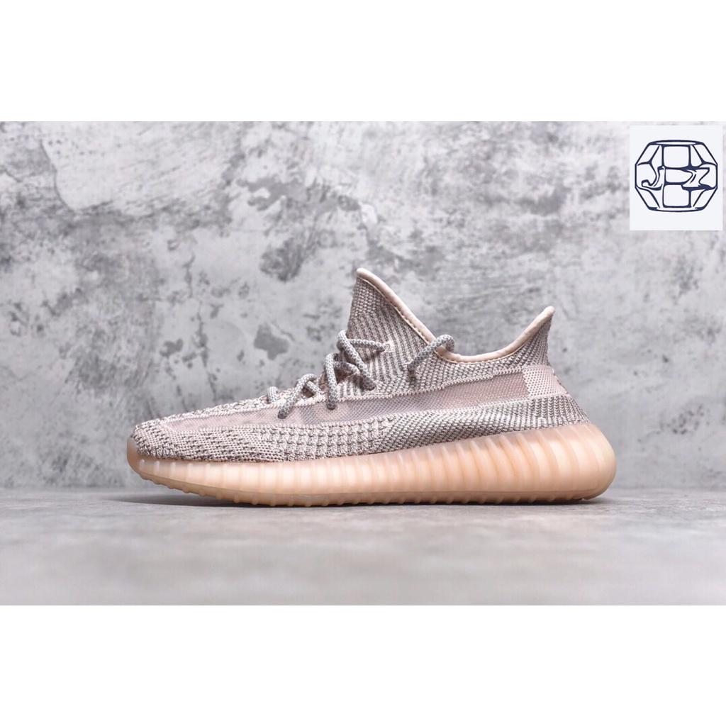 Pure Original YeezyCoconut350 Boost V2 Light Pink Stars Light Pink Angel Sports Casual Shoes