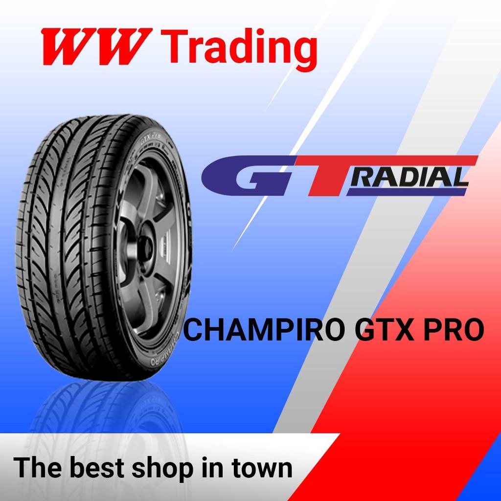 ยางรถยนต์ Champiro Gtx Pro Tires 185 / 65 R14 / 185 65 14 สําหรับซ่อมแซม