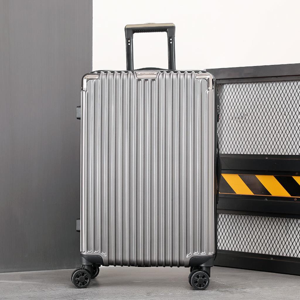 กระเป๋าเดินทางมีล้อเลื่อนขนาด 24 นิ้ว