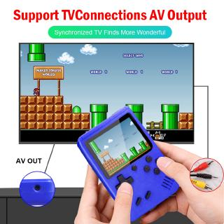 Sup 400 in 1 Double Players Gameboy Console Retro Mini FC Handheld Box 400 เกมอาเขตคลาสสิก