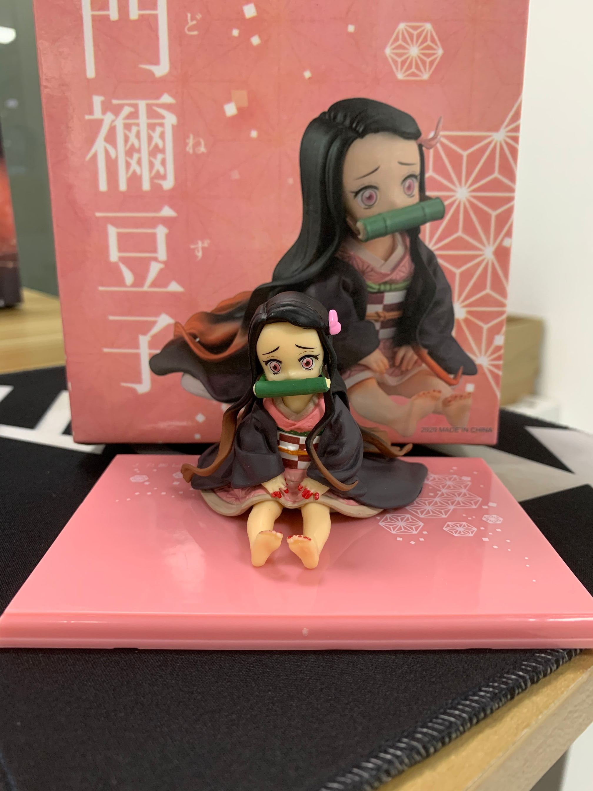 Demon Slayer Kimetsu no Yaiba Nezuko Figure Model Toy Anime Demon Slayer Figure Nezuko Cute Toy SzZH