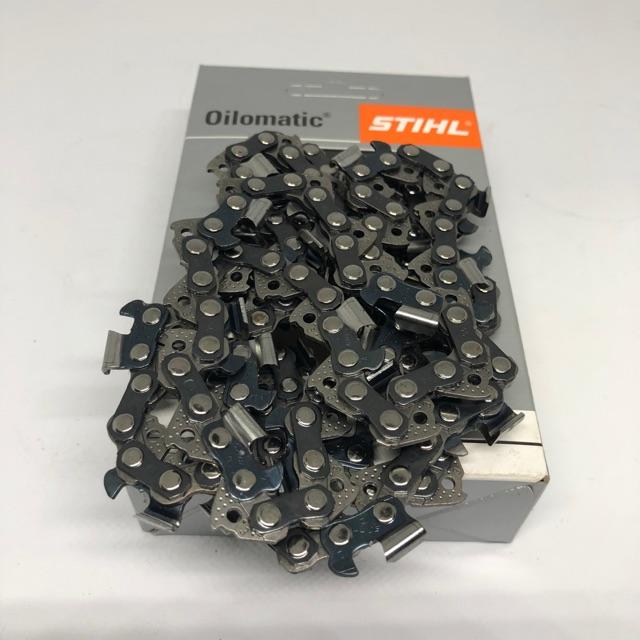 โซ่เลื่อยยนต์ โซ่ตัดไม้ STIHL แท้100% ขนาด 3/8 หุน บาร์ 20,22,25 นิ้ว คุณภาพสูง