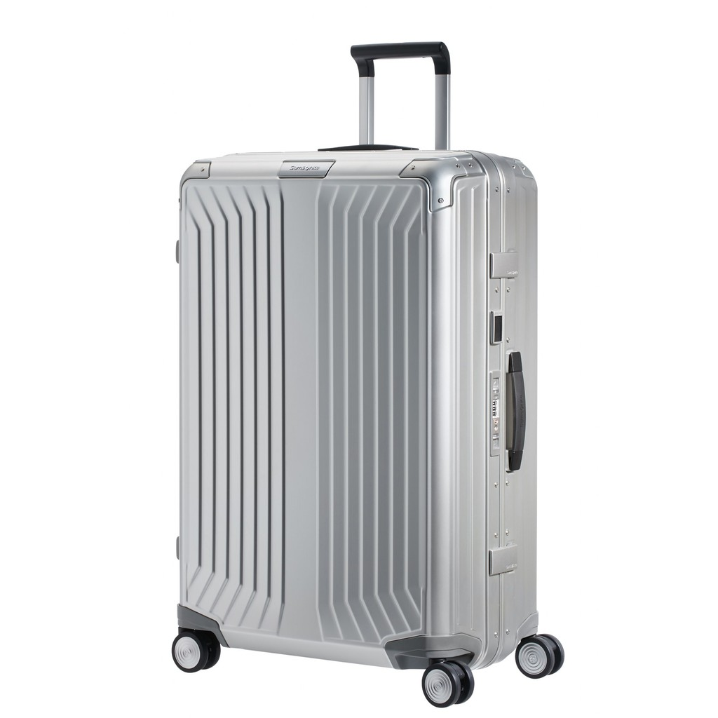 SAMSONITE กระเป๋าเดินทางล้อลากอลูมิเนียม (28 นิ้ว ) รุ่น LITE-BOX ALU SPINNER 76/28(แบบเฟรมล็อก)