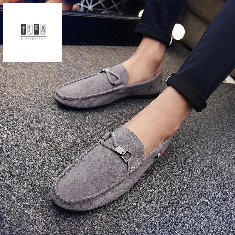888◊✔◙✠⚡GC รองเท้าคัชชู รองเท้าโลฟเฟอร์หนัง สีดำ สำหรับผู้ชาย รองเท้าหนังแฟชั่น loafer 04 E-35