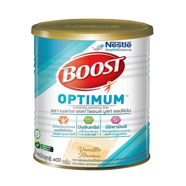 ▲✥♕Nestle Nutren Boost Optimum 400 g อาหารเสริม นิวเทรน ออปติมัม กรัม