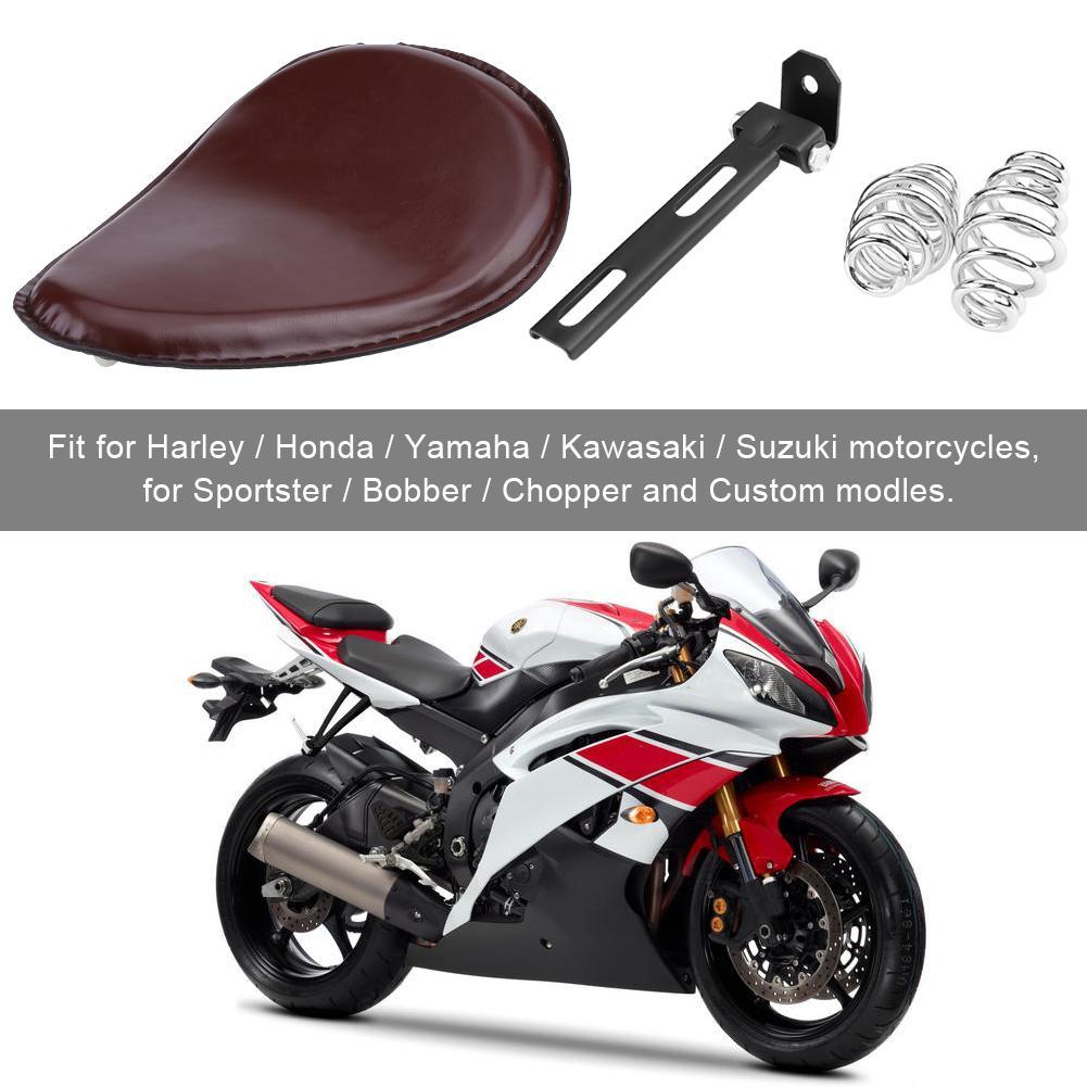 Motorcycle Custom Solo Spring Bracket Seat Kit for Harley Chopper