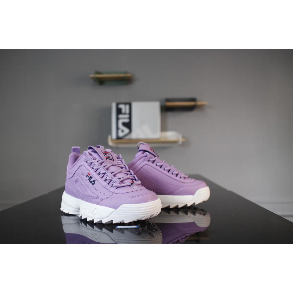 *Yinxshop*Fila DISRUPTOR II รองเท้าวิ่งสำหรับผู้หญิง