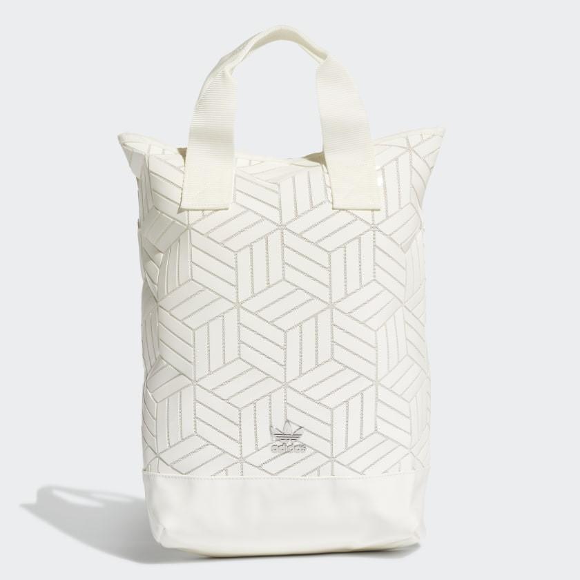 กระเป๋าถือ สะพายหลัง Adidas Backpack Roll Top 3D [รหัส FL9677][ลิขสิทธ์แท้ Adidas Thailand]