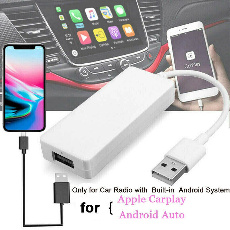Carplay Usb Dongle สําหรับ Wince Apple Iphone Android เครื่องเล่นนําทาง 5v