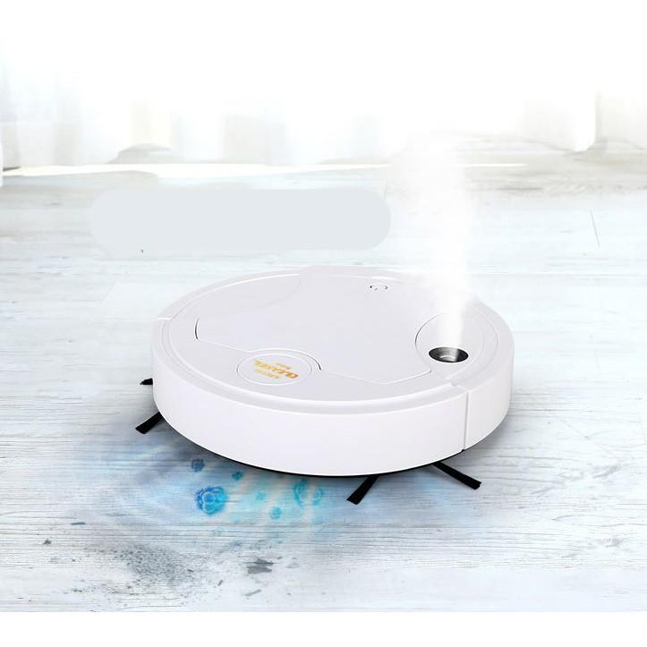 หุ่นยนต์ดูดฝุ่น CLEAN SMART ROBOT แบบชาร์จได้ Cleaning Robot ( K2