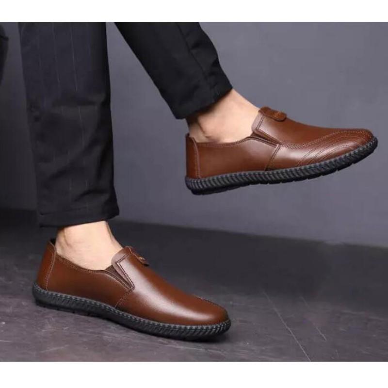 ◊☞❀casual Shoes Menรองเท้าผู้ชายรองเท้าหนังชายรองเท้าหนังชายรองเท้าคัชชู ผชMario storeกาวเกง xlกางเกงขาสั้น🎁🎀✨🎗
