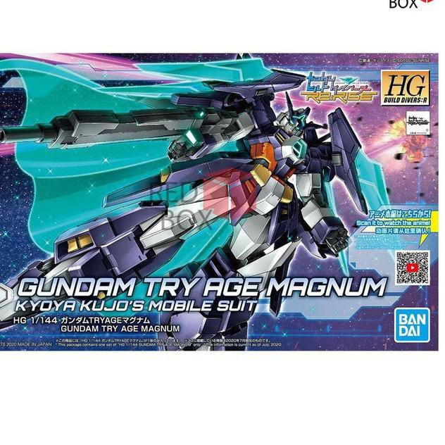 Oke rice Hg Gundam Try Age Magnum Hgbd Hgbd: R Bandai Gunla Build Divers Rerise#¥%¥# 0jCW