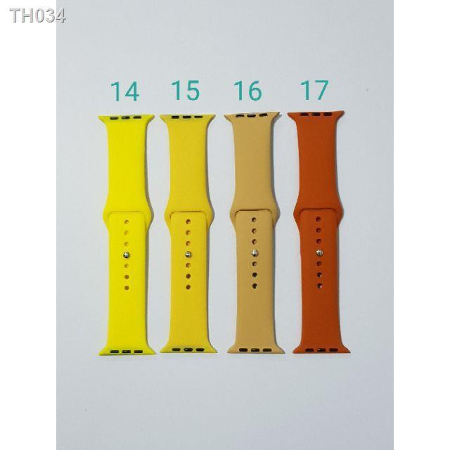 ┇✱♕สาย applewatch สาย applewatch แท้ 🔥พร้อมส่งในไทย🌟สาย apple watch sport band 42 /44 mm.set1 ใส่ได้ทุกซีรีย์ S.1-6.🌟