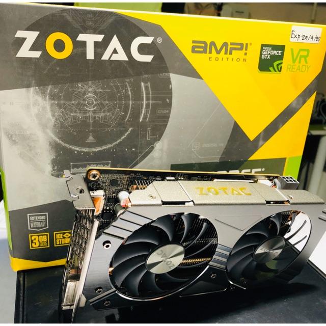 GTX 1060 3GB 2Fan ZOTAC มือสองสภาพใหม่ (update27/02/21)