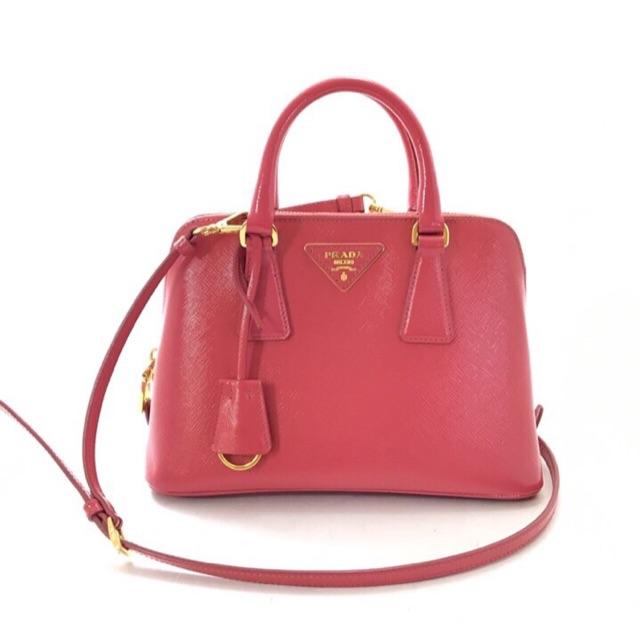 Prada saffiano (pink)มือสองสวยมาก สภาพใหม่ ของแท้
