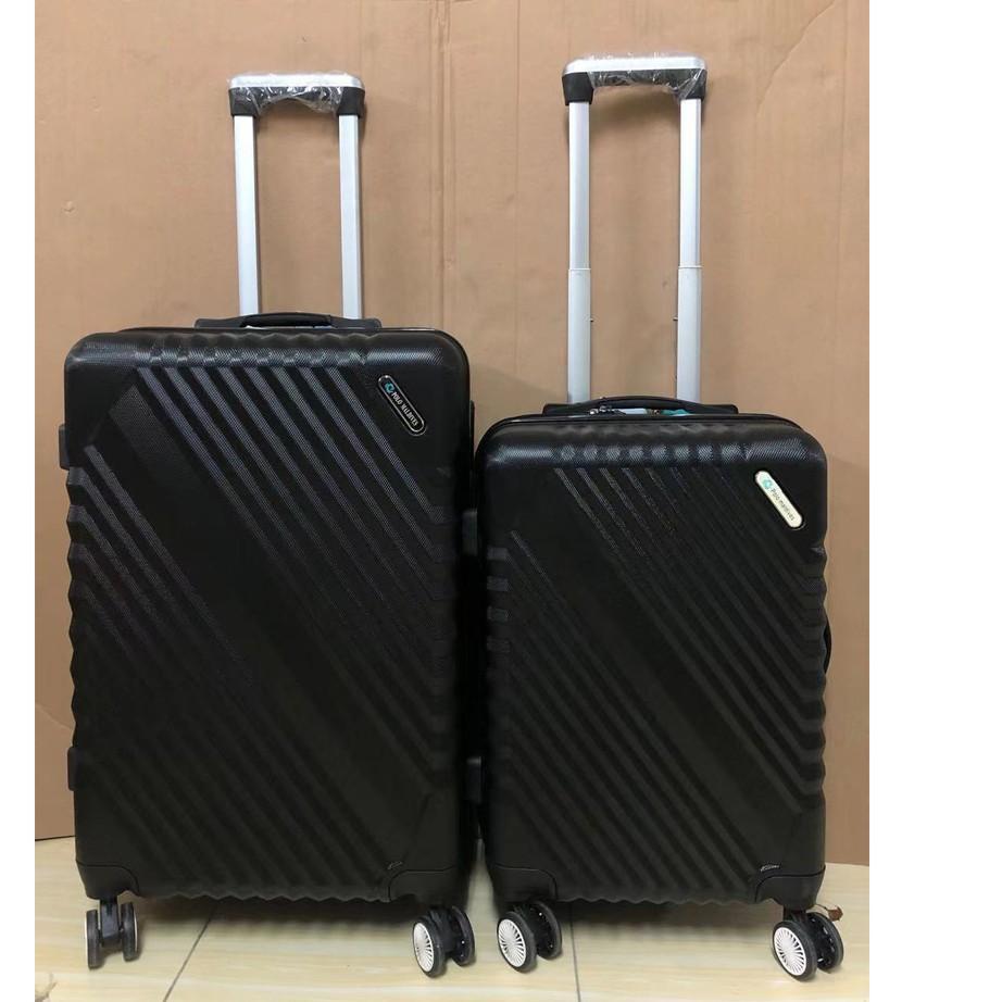 กระเป๋าเดินทางไฟเบอร์ Abs 805 24 นิ้ว 24 นิ้ว