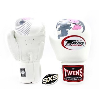 Twins Special Boxing Gloves FBGVL3 13 WHITE PINK