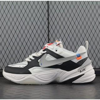 differently new york retail prices Nike M2 K tekno รองเท้าวิ่งสีดำและสีเทา